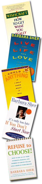 Barbara Sher books