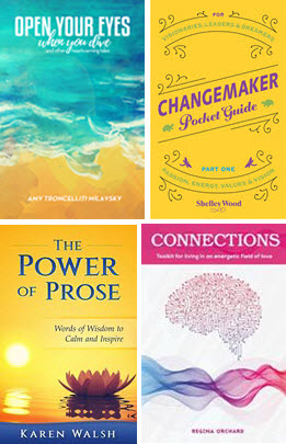 4 of the books launched at our 2016 telesummit