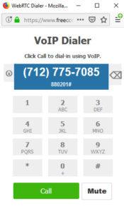 VoIP dialer